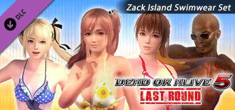 DOA5LR Zack Island Swimwear Set