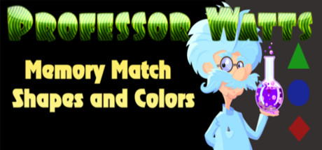 Professor Watts Memory Match: Shapes And Colors