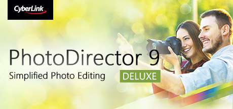 CyberLink PhotoDirector 9 Deluxe - Photo editor, photo editing software
