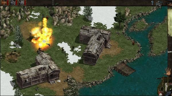 Скриншот из Commandos: Behind Enemy Lines