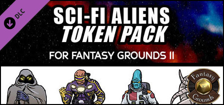 Fantasy Grounds - Disposable Heroes: Sci-Fi Aliens (Token Pack)