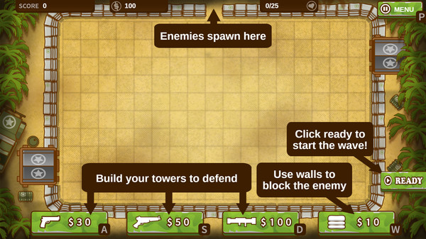 A Mazeing Tower Defense