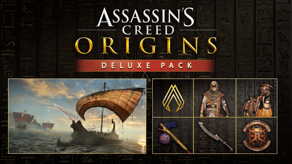 скриншот Assassin's Creed Origins - Deluxe Pack 0