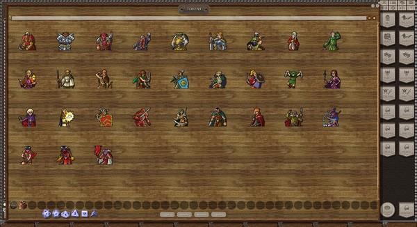 Скриншот из Fantasy Grounds - Disposable Heroes: Fantasy 4E (Token Pack)