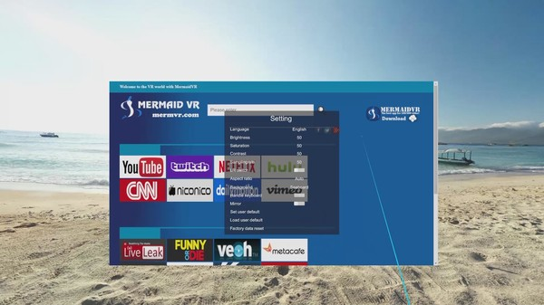Скриншот из Mermaid VR