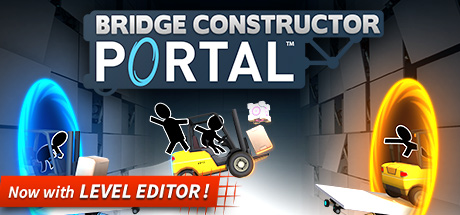 Bridge Constructor Portal on Steam Backlog