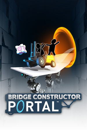 Bridge Constructor Portal poster image on Steam Backlog