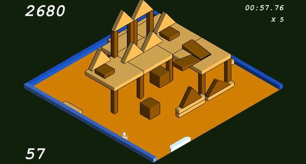 Скриншот из Super Blockbreak 3D