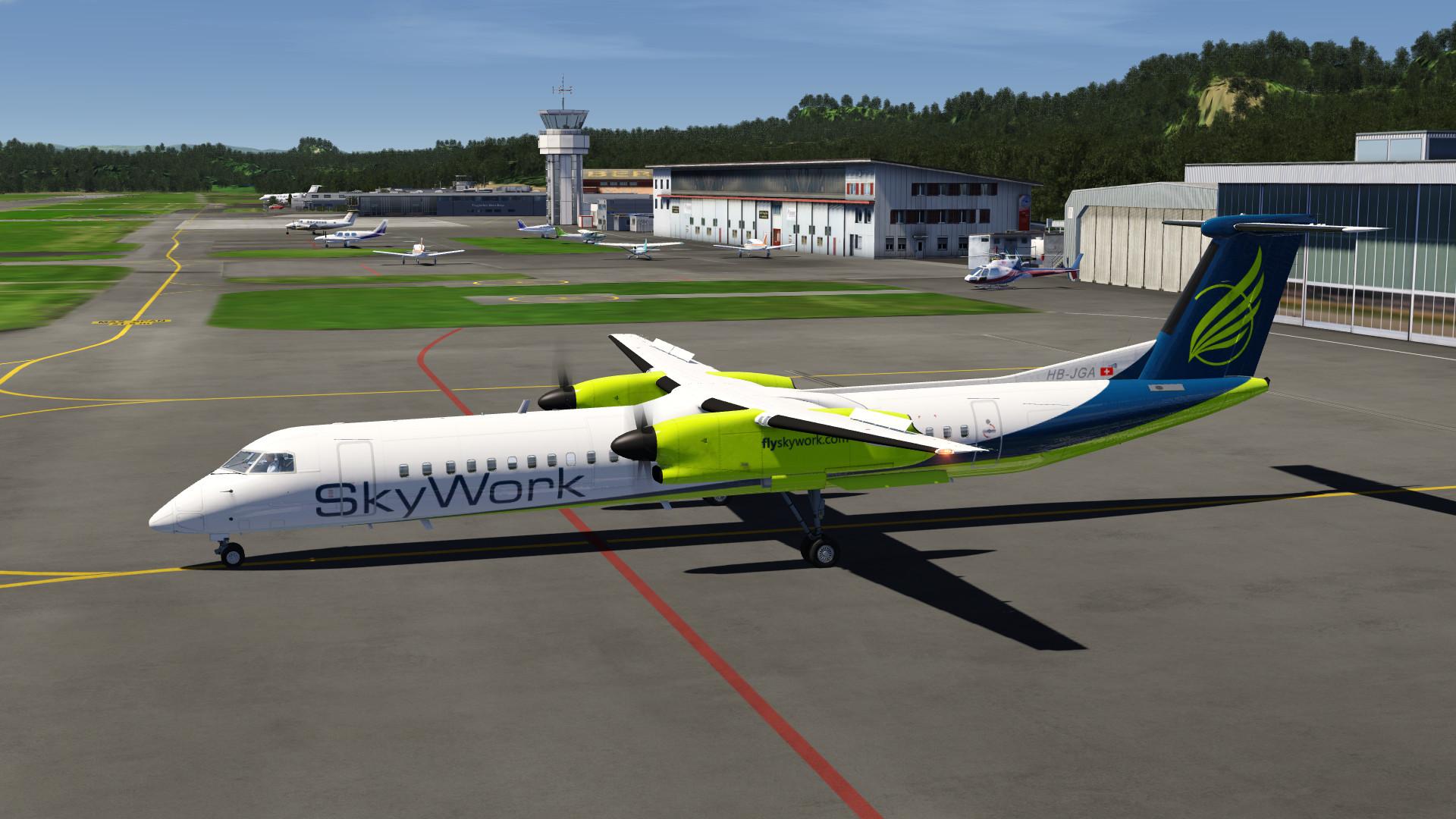 Aerofly FS 2 - Q400 on Steam