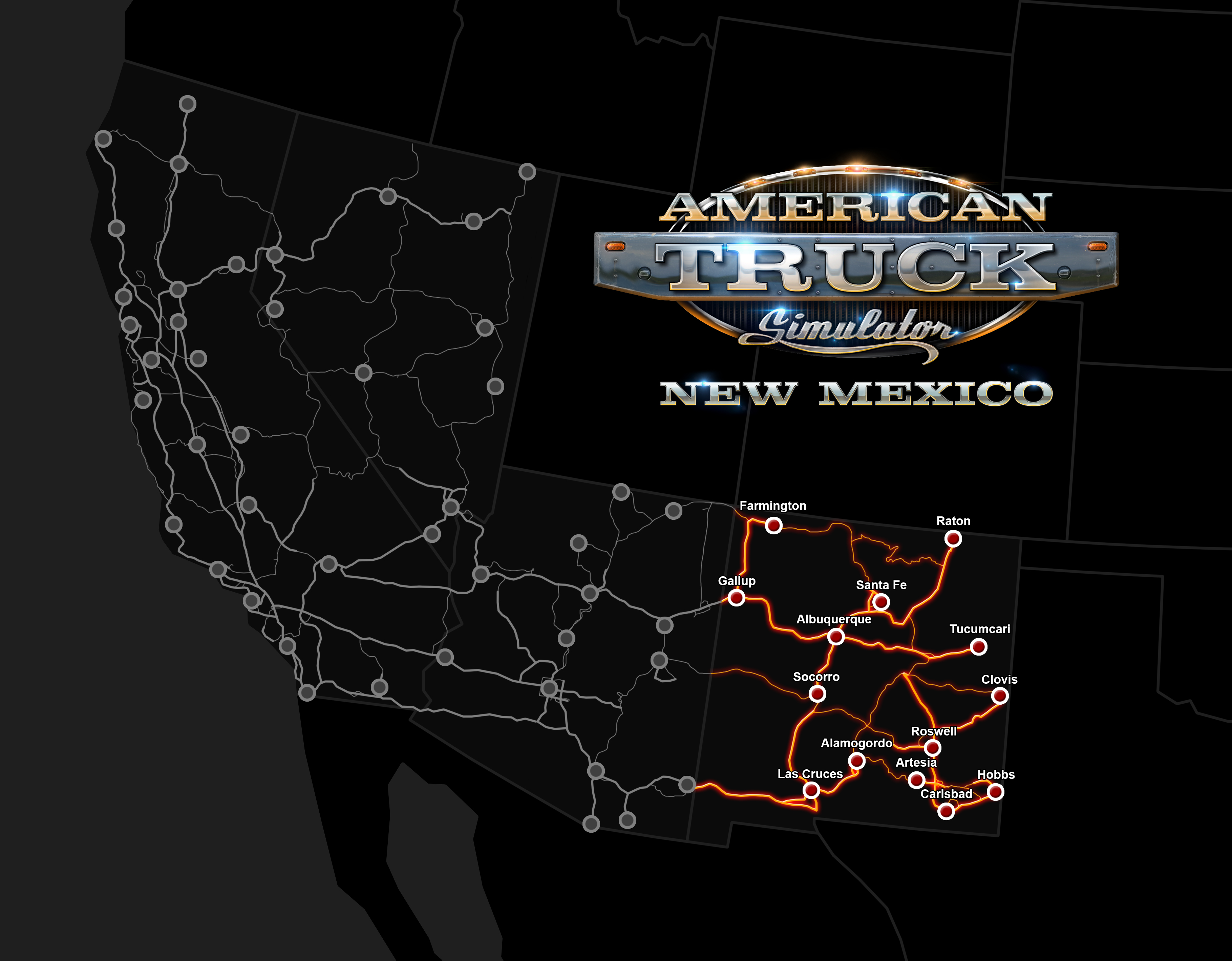 American Truck Simulator   New Mexico on Steam