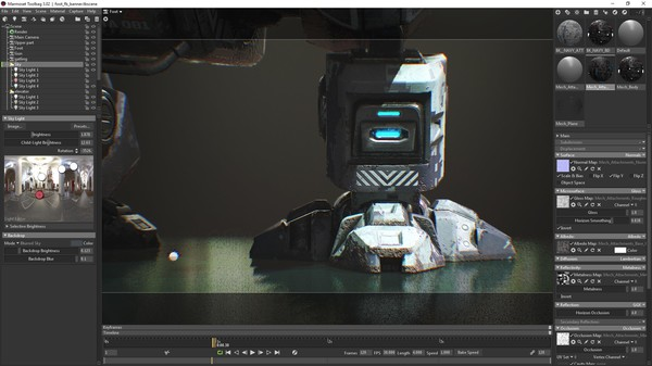 Скриншот из Mech Tutorial - 3Ds Max & Substance Painter Downloadable Content