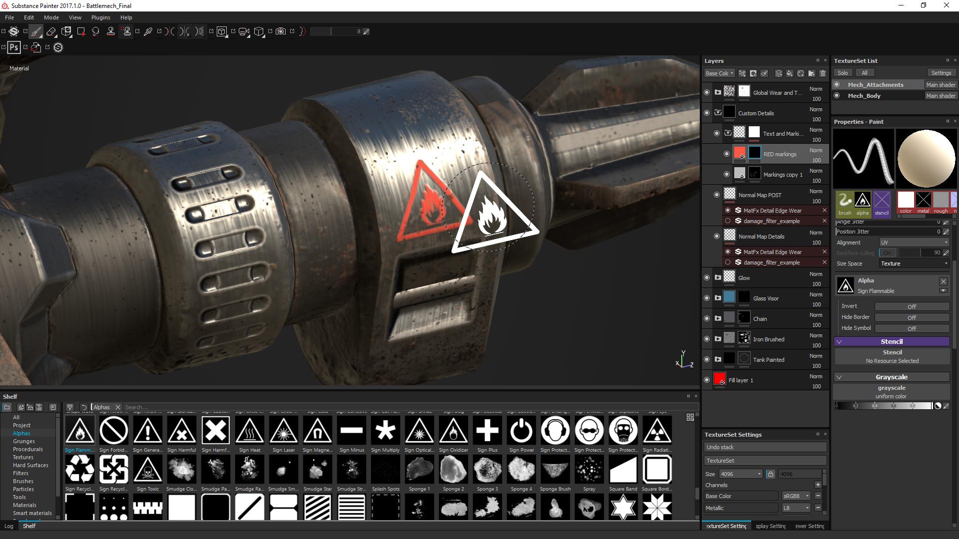 Mech Tutorial - 3Ds Max & Substance Painter