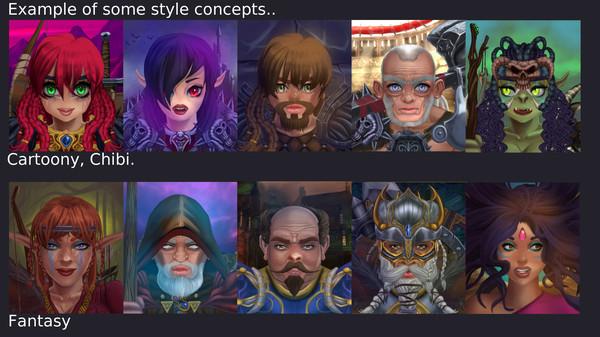 Скриншот из Portrait Wizard