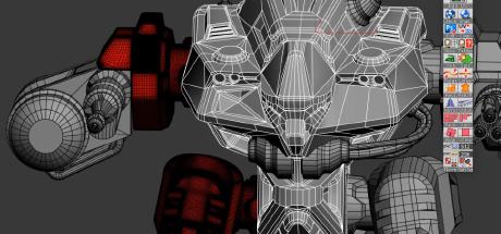Mech Tutorial - 3Ds Max & Substance Painter: Mech Modeling - S01E17 on Steam