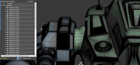 Mech Tutorial - 3Ds Max & Substance Painter: Mech Modeling - S01E30 on Steam