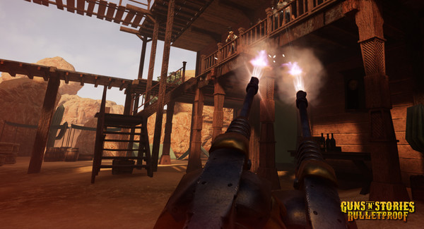 Скриншот из Guns'n'Stories: Bulletproof VR