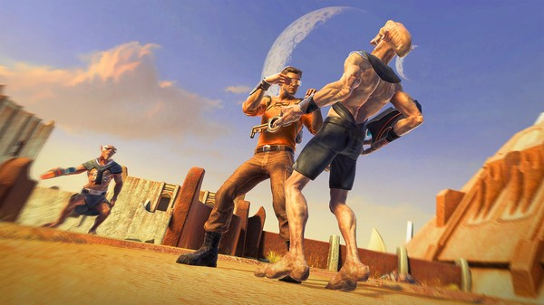 Скриншот из Outcast – Second Contact Golden Weapons Pack