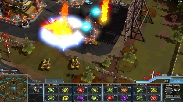 Скриншот из Forged Battalion
