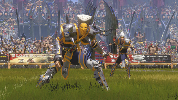 Скриншот из Blood Bowl 2 - Elven Union