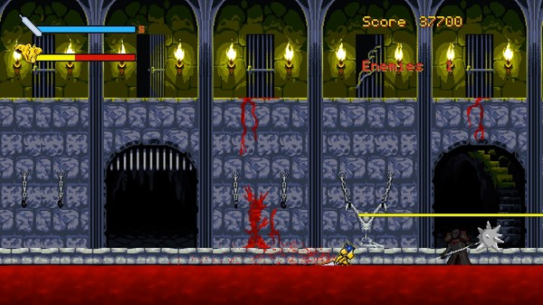 Скриншот из A Bloody Night Demo