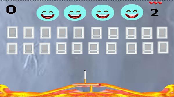Скриншот из ArkanoidSmoking