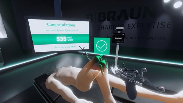 Скриншот из AESCULAP® OrthoPilot®Elite VR Palpation