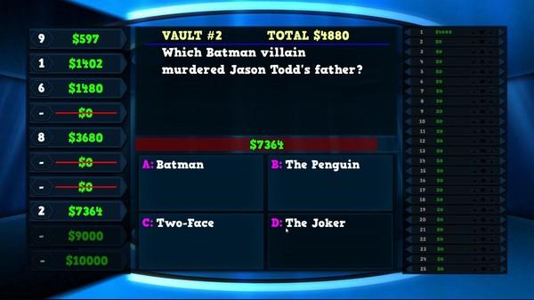 Скриншот из Trivia Vault: Super Heroes Trivia