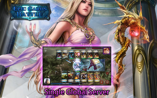 Скриншот из Epic Cards Battle 2-Dragons Rising(TCG)