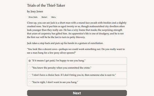 Скриншот из Trials of the Thief-Taker