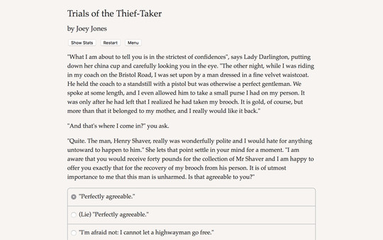 Скриншот из Trials of the Thief-Taker Demo