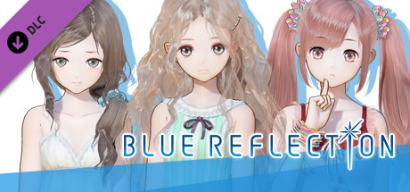 BLUE REFLECTION - Summer Clothes Set C (Lime, Fumio, Chihiro)