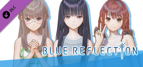 Blue Reflection: Summer Clothes Set D (Sanae, Ako, Yuri) 2017 pc game Img-3