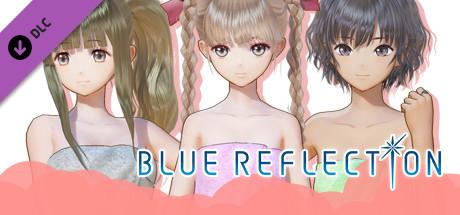 Blue Reflection: Bath Towels Set B (Yuzu, Shihori, Kei) 2017 pc game Img-2