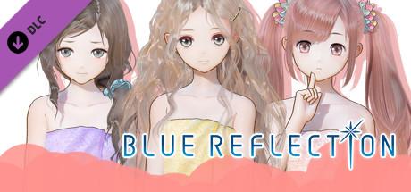 BLUE REFLECTION - Bath Towels Set C (Lime, Fumio, Chihiro)