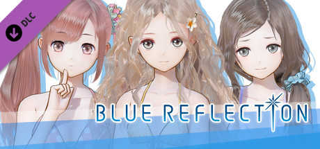 BLUE REFLECTION - Vacation Style Set C (Lime, Fumio, Chihiro)
