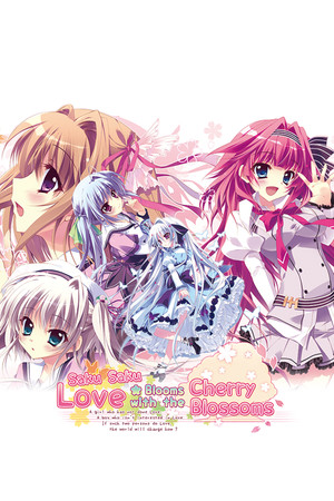 Saku Saku: Love Blooms with the Cherry Blossoms poster image on Steam Backlog