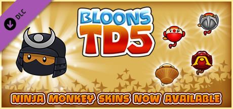 Bloons TD 5 - Samurai Ninja Monkey Skin