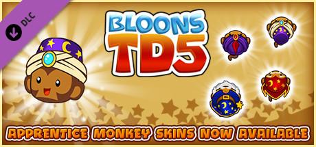 Bloons TD 5 - Mystical Apprentice Monkey Skin