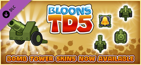 Bloons TD 5 - Military Bomb Tower Skin