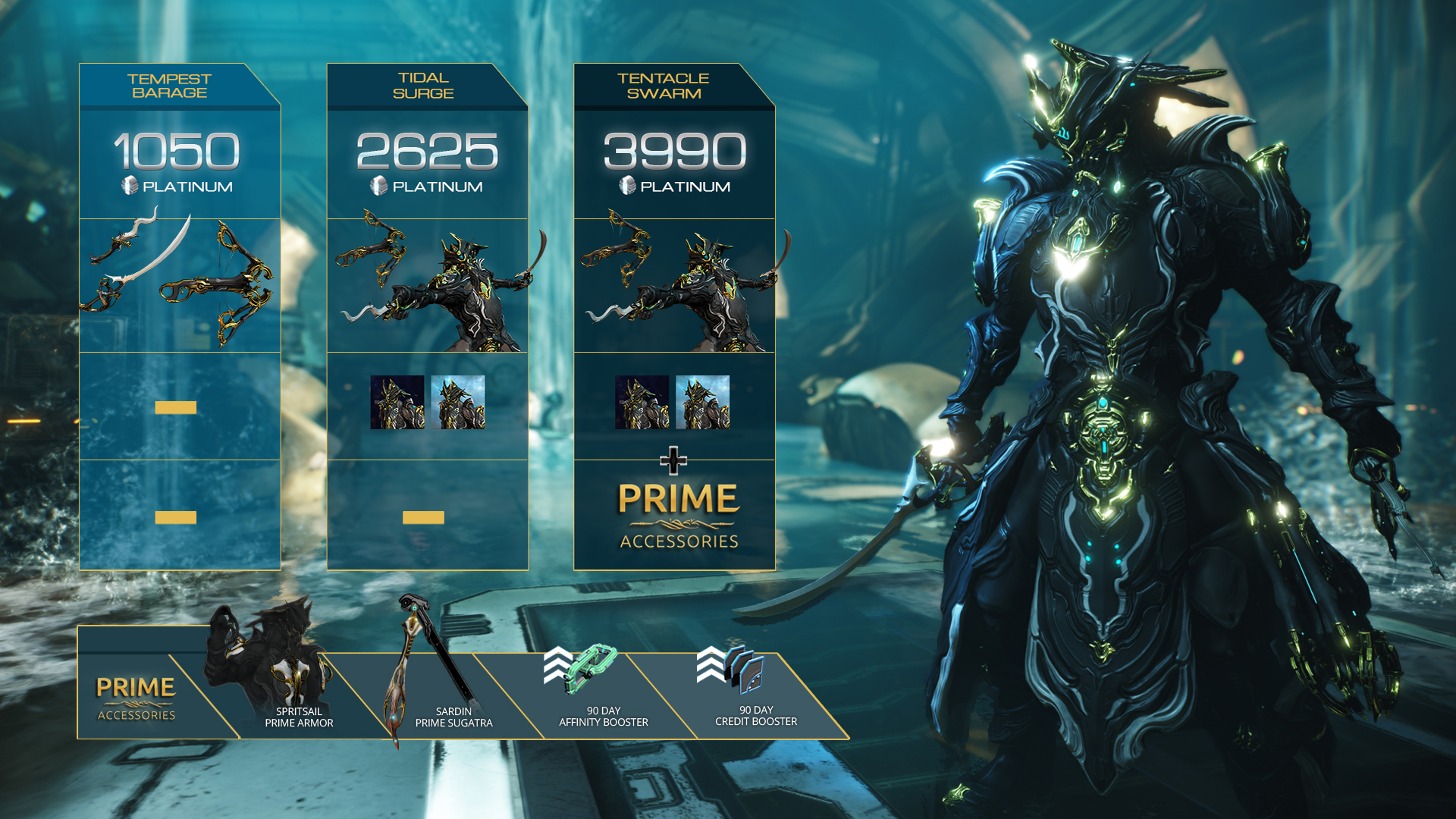 Warframe prime access release dates