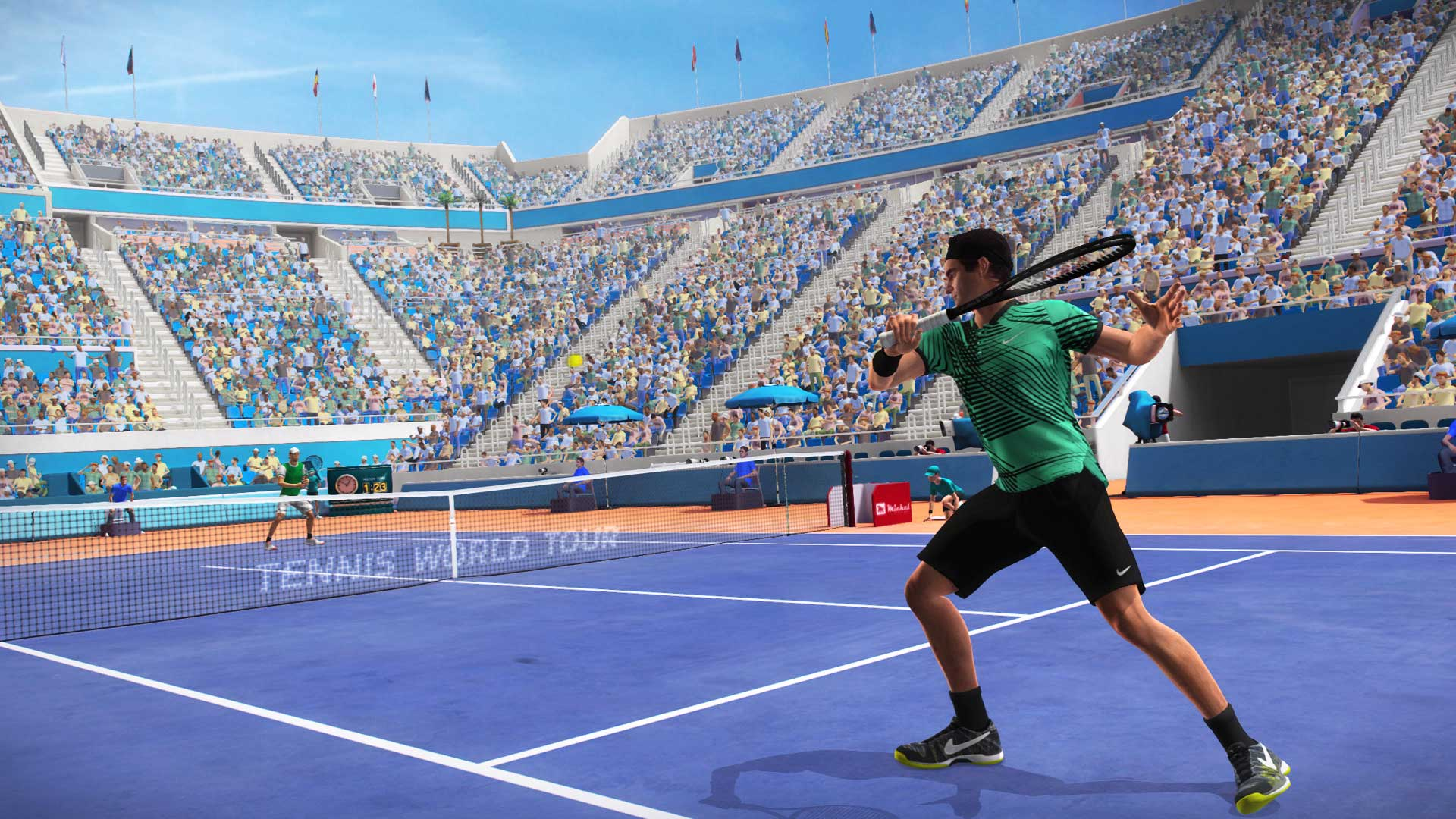 ba4873fc7c3 Sports Tennis Simulation. +. There was an error trying to play this video.  Please make sure your browser is up to date.