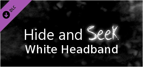 Hide and Seek - White Headband