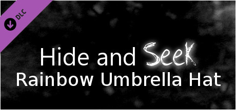 Hide and Seek - Rainbow Umbrella Hat