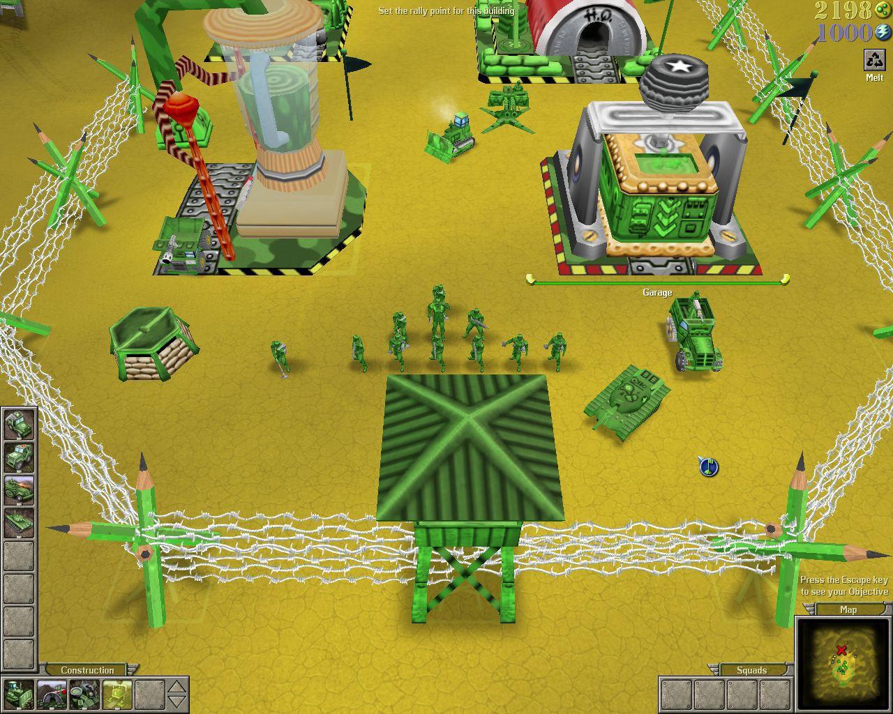 تحميل اللعبة الاستراتيجية Army Men RTS بحجم خفيف
