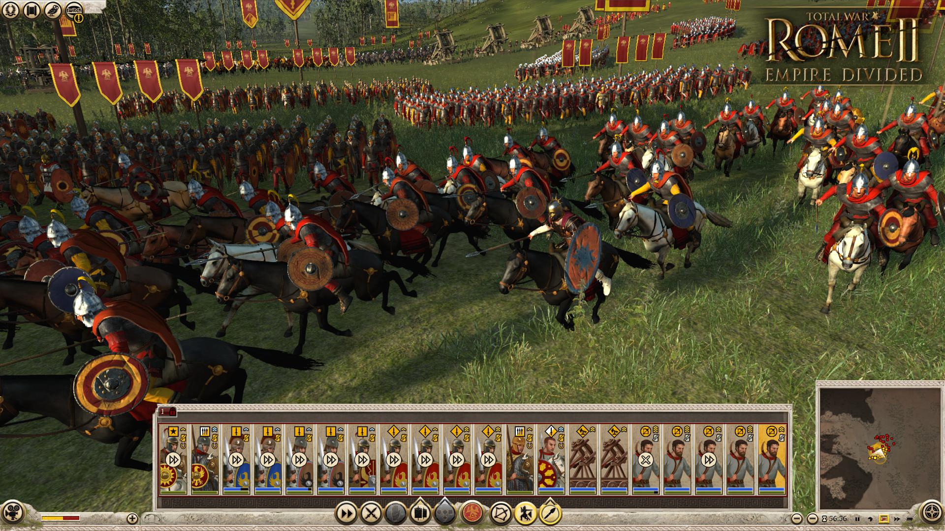 Total War: ROME II - Empire Divided Screenshot 1