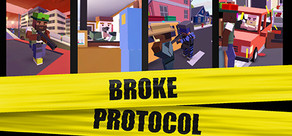 BROKE PROTOCOL: Online City RPG cover art
