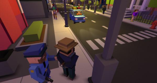 Скриншот из BROKE PROTOCOL: Online City RPG