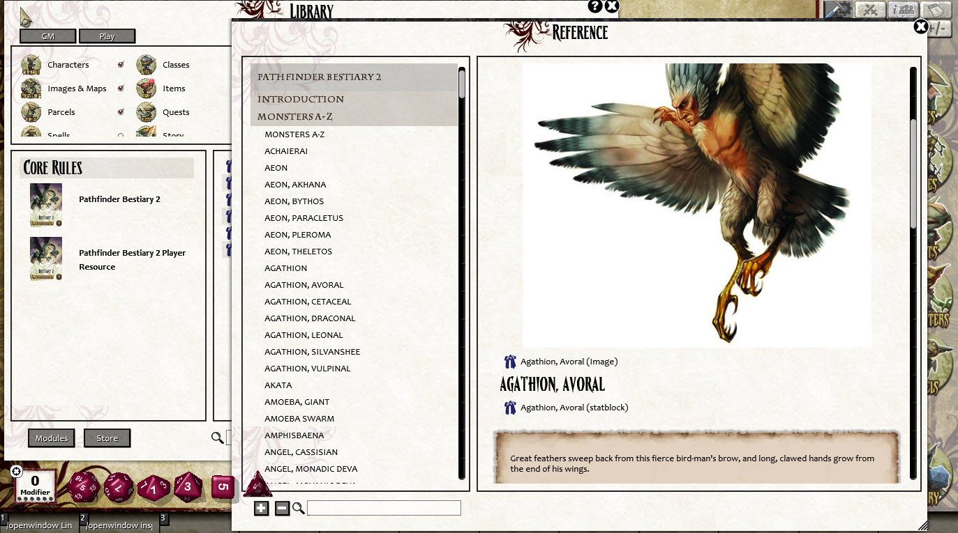 Fantasy Ground Pathfinder Rpg Bestiary 2 Pack Pfrpg On Steam