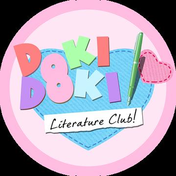 Doki Doki Literature Club! logo