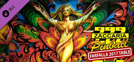 Zaccaria Pinball - Farfalla 2017 Table